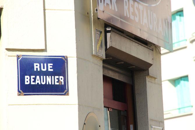 Rue Beaunier dans le quartier du Soleil, Saint-Etienne © H. Jacquemin