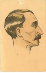 Albert Henri Chipart, directeur (1919-29) - « Souvenir Revue 1920 » © Association ICM