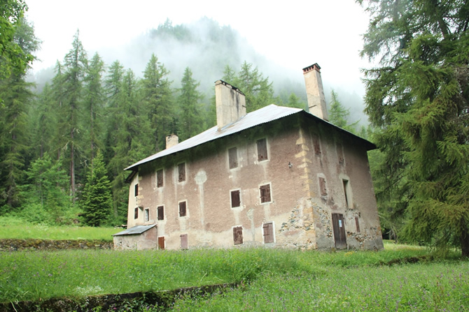 Site de l'Ecole Pratique des Mines du Département du Mont-Blanc © H. Jacquemin