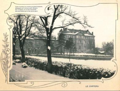 Le Château de Chantegrillet, 1920 © Association ICM