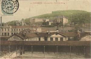 Le site de Chantegrillet, l'Ecole professionnelle Mimard et le lycée Fauriel © H. Jacquemin