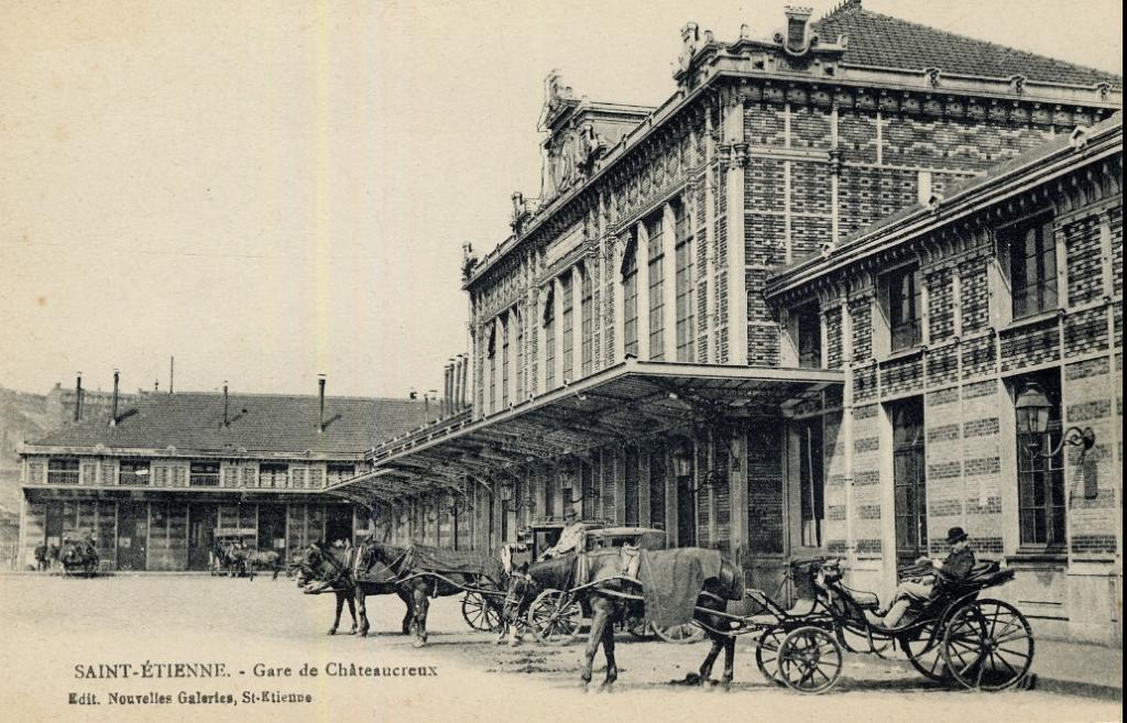 Gare de Châteaucreux © Médiathèques de Saint-Etienne
