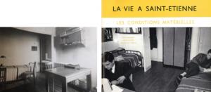 Les chambres de la Maison des élèves © Mines Alumni Saint-Étienne