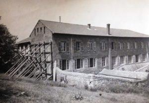 L'École de Chantegrillet étayé © Mines Saint-Étienne Alumni