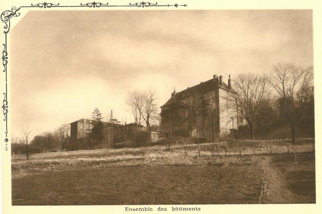 Le château de Chantegrillet et ses annexes