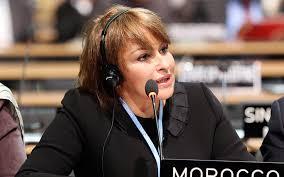 Hakima El Haïté, vice-présidente de l'Internationale Liberale, Mexico, octobre 2015