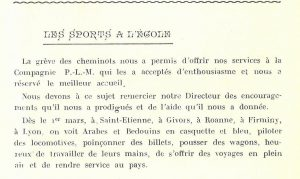Le Pic qui chante, n° 1, 1920 © Mines Saint-Étienne Alumni