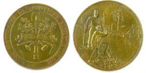 Médaille du Centenaire - Collection Alumni Mines Saint-Étienne