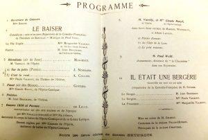 Programme musical de la soirée de gala © Mines Saint-Étienne Alumni