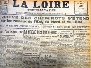 La Loire Républicaine, 28 février 1920 © Archives Municipales de Saint-Étienne