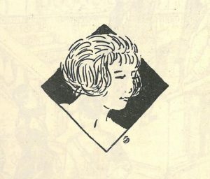 Dessin de la revue de 1919 © Alumni Mines Saint-Étienne