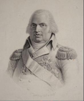 Louis XVIII, roi de France et de Navarre par Jean Godefroy, 1815
