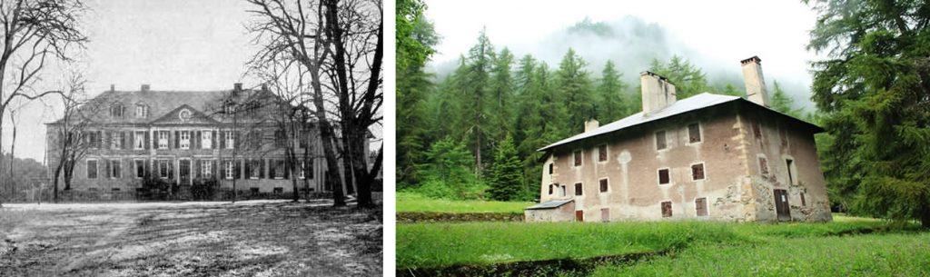 Écoles pratiques de Geislautern (Sarre) et Pesey (Savoie) © Alumni Mines Saint-Étienne et H. Jacquemin