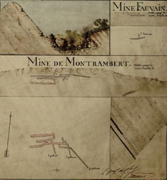 Extrait de l'Atlas Beaunier © Archives Départementales de la Loire